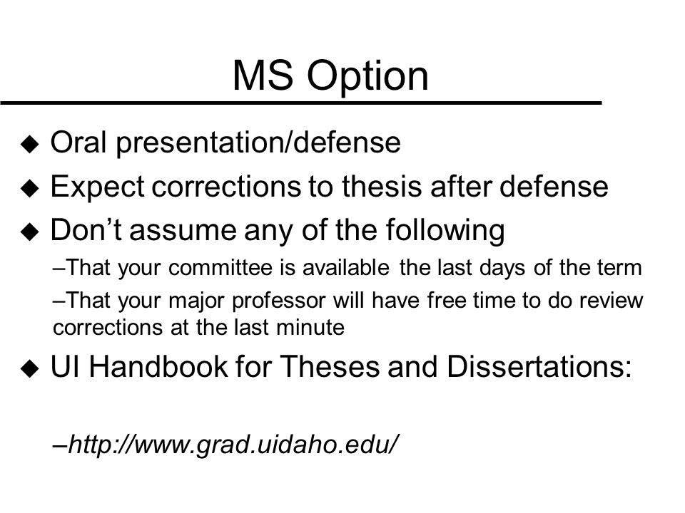 Thesis And Dissertation Questions
