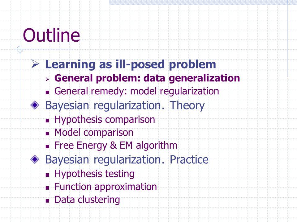 Generalization for outline?