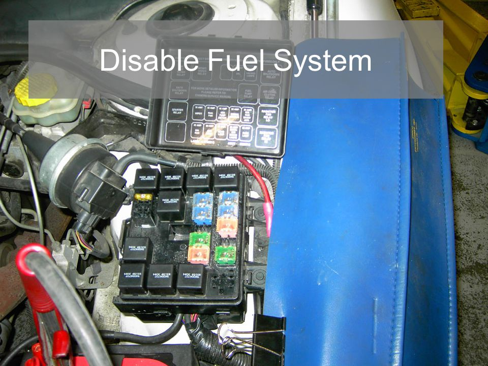 Disable Fuel System