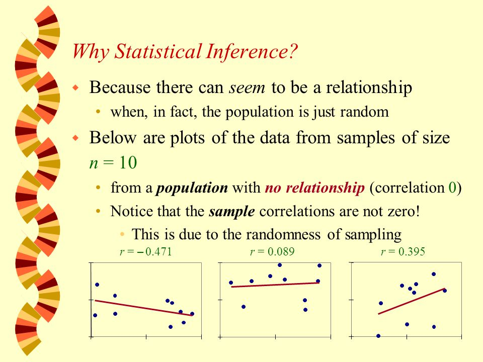 Why Statistical Inference.
