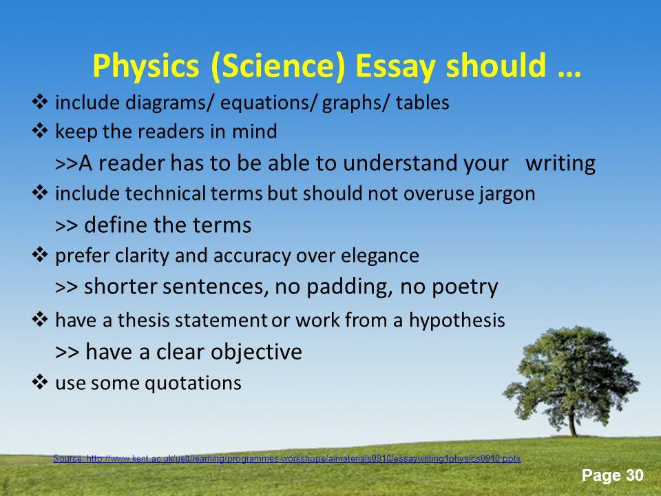 Essay Environment