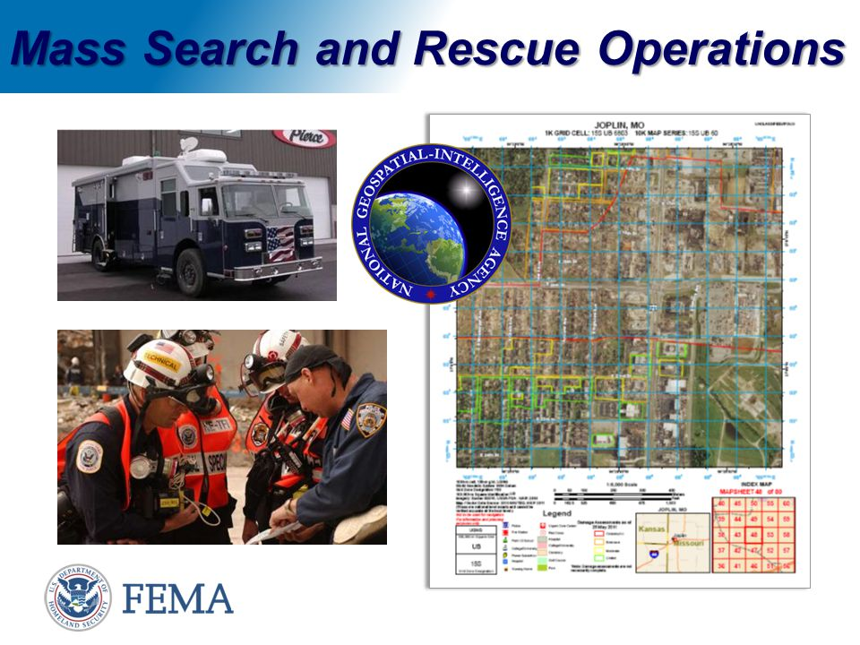 Mass Search and Rescue Operations