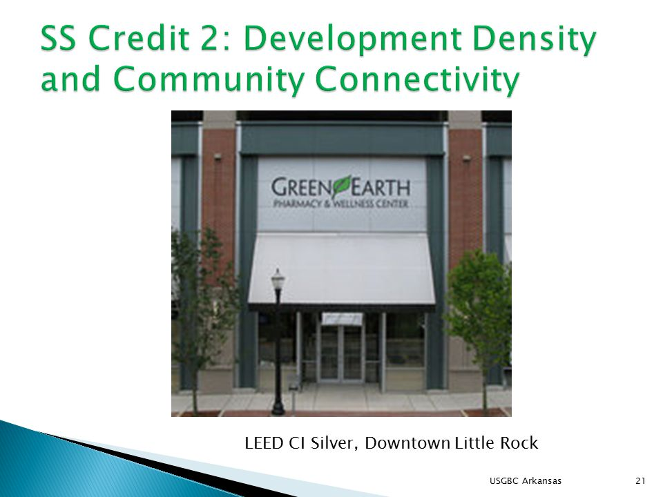 USGBC Arkansas21 LEED CI Silver, Downtown Little Rock