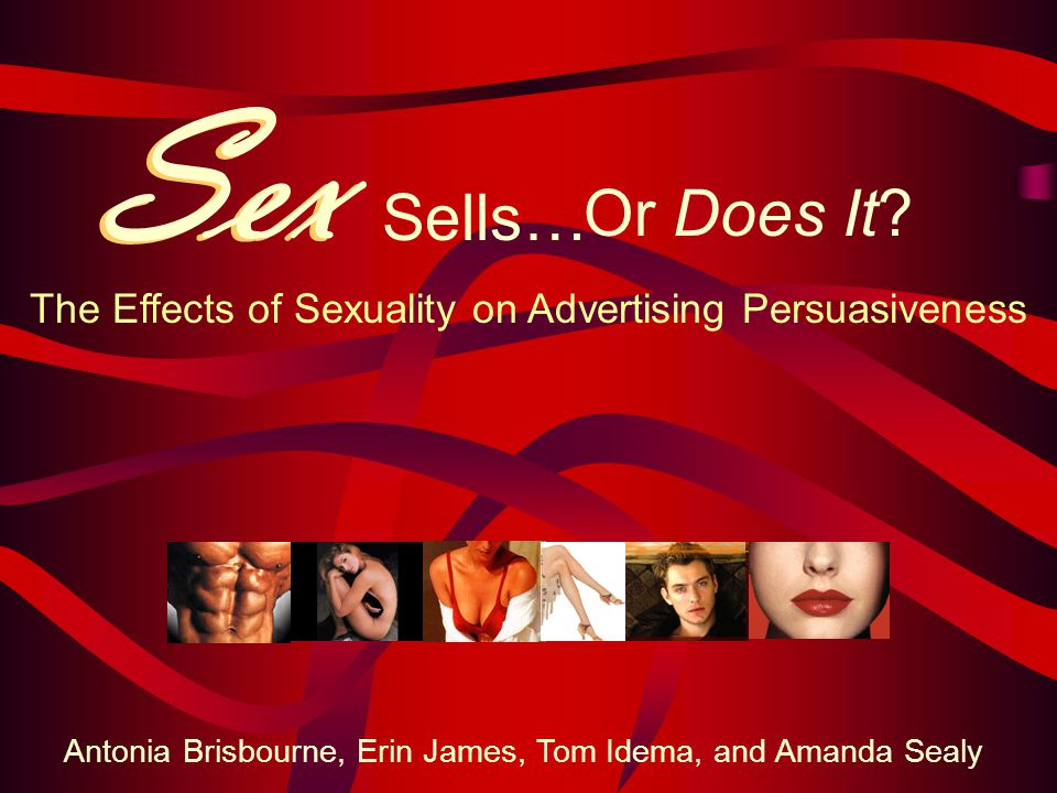 Sex Sells Advertisement