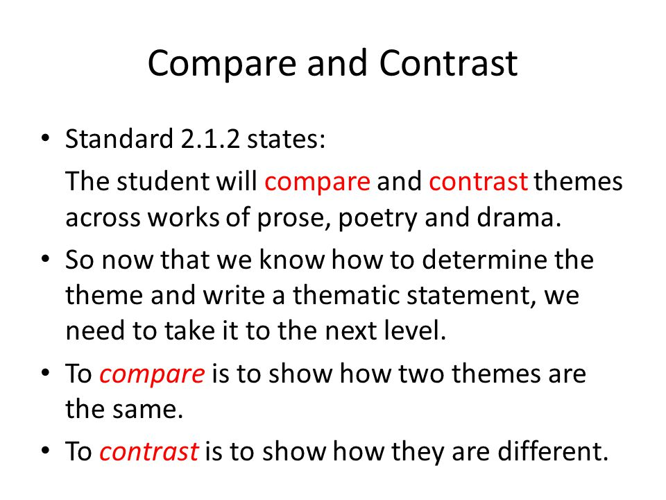 compare and contrast literary text and Compare and contrast a written story, drama, or poem to its audio, filmed, staged, or multimedia version  new research on text complexity ada compliant version.