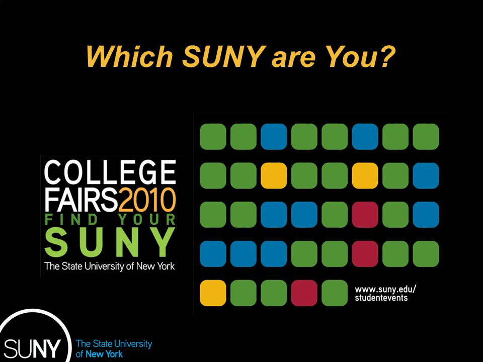 Educational Opportunity Program Which SUNY are You