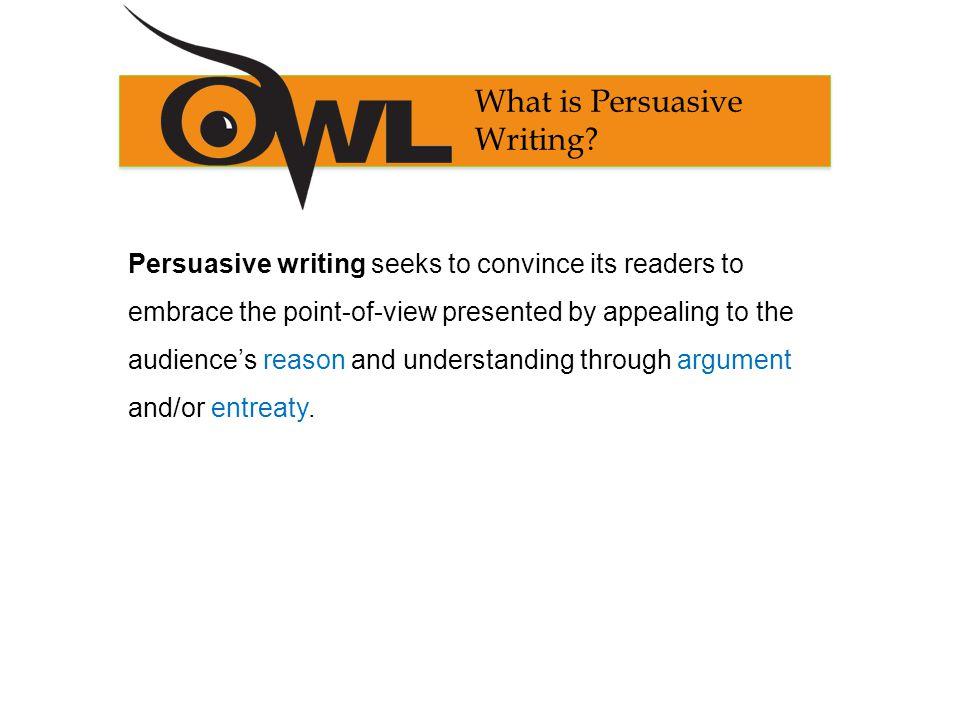 owl purdue persuasive essay