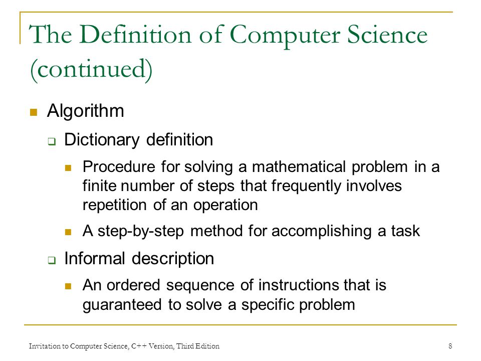 Chapter 1 an introduction to computer science invitation to 8 invitation stopboris Image collections