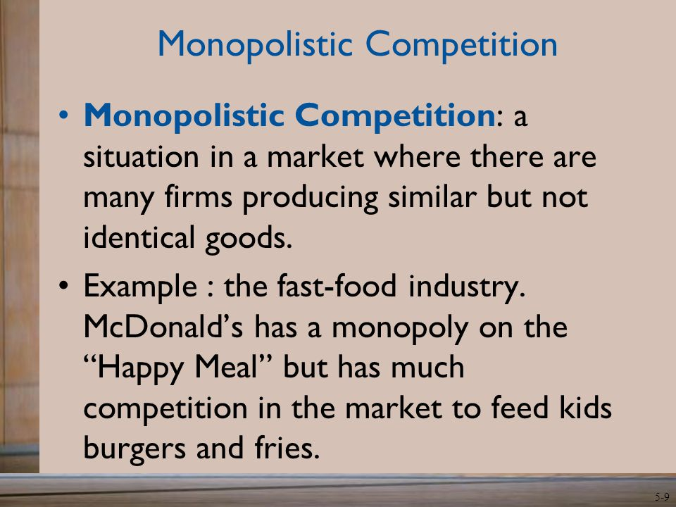 Perfect Competition Examples Companies