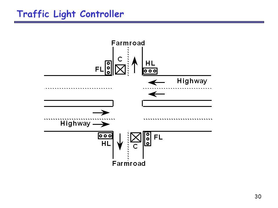 30 Traffic Light Controller