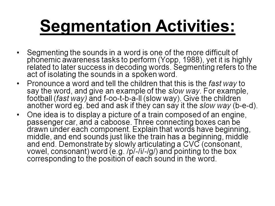 """Presentation """"Towards Reading Strategies. Towards Reading Try to ..."""