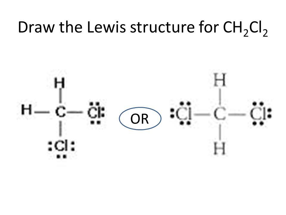 Ch2cl2 lewis structure