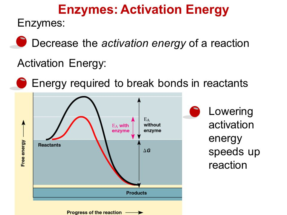 How do you explain activation energy in terms of bond breaking?