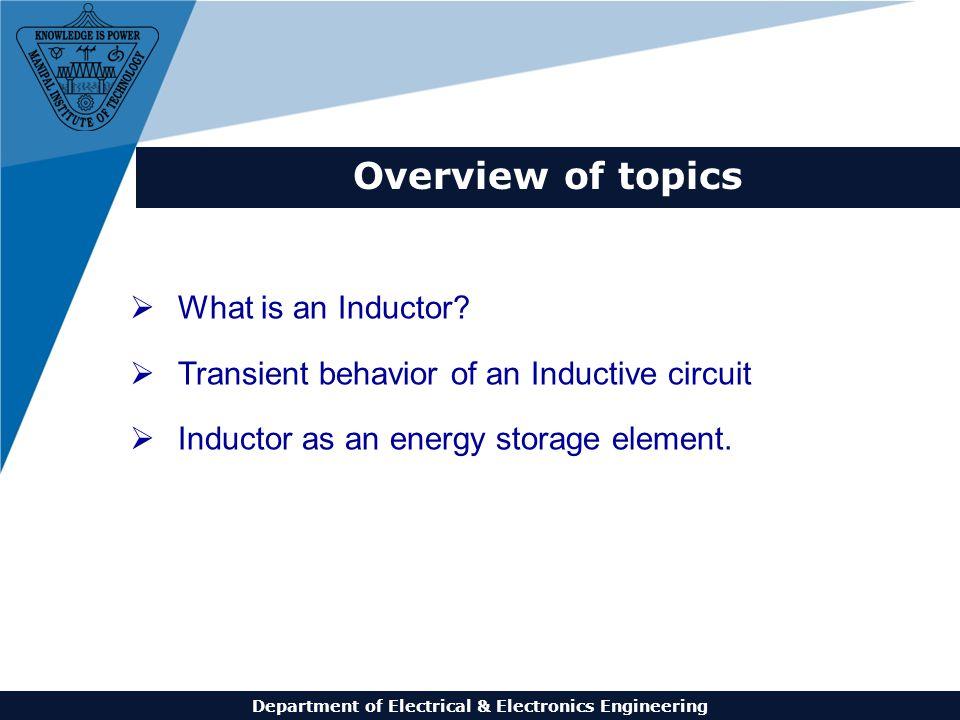 Department of Electrical & Electronics Engineering ELE 1001: Basic ...