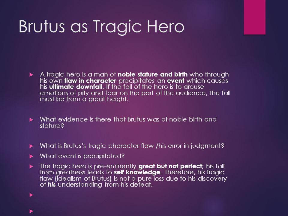 tragic heros thesis