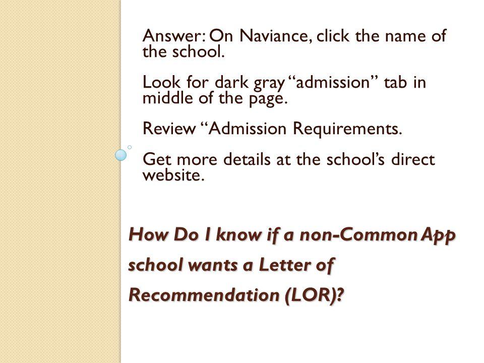 Arranging Letters Of Recommendation Shorecrest Seniors Class Of