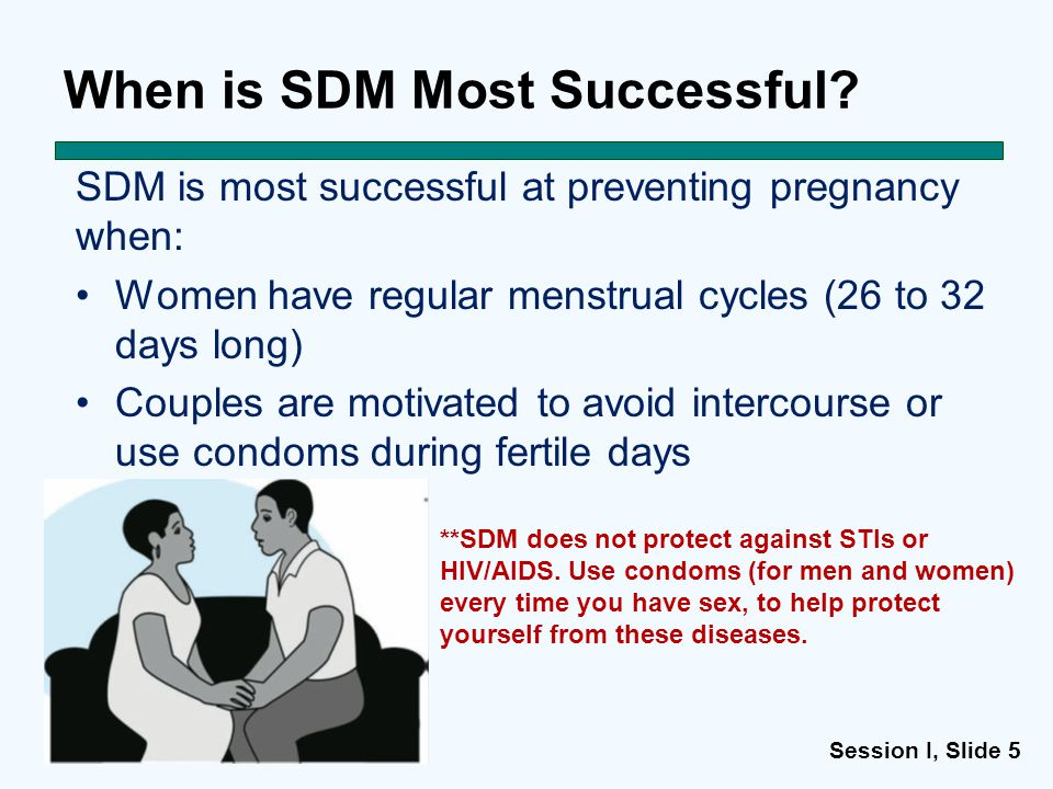 Session I, Slide 55 When is SDM Most Successful.
