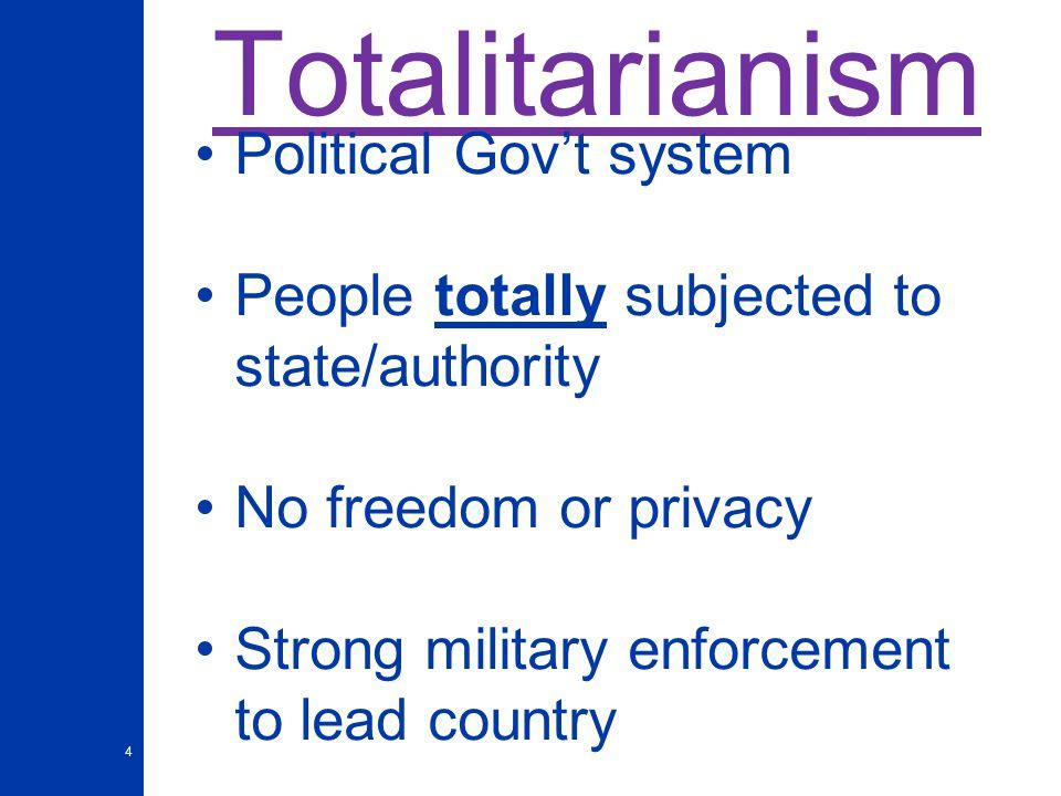 Fascism/ Nazism & Totalitarism. Fascism Extreme Militarism Loyalty ...