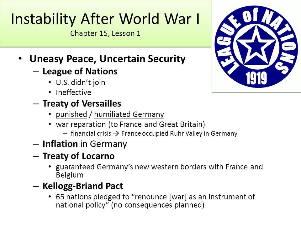 World War I Vocabulary Matching Worksheet | World War I, The o ...
