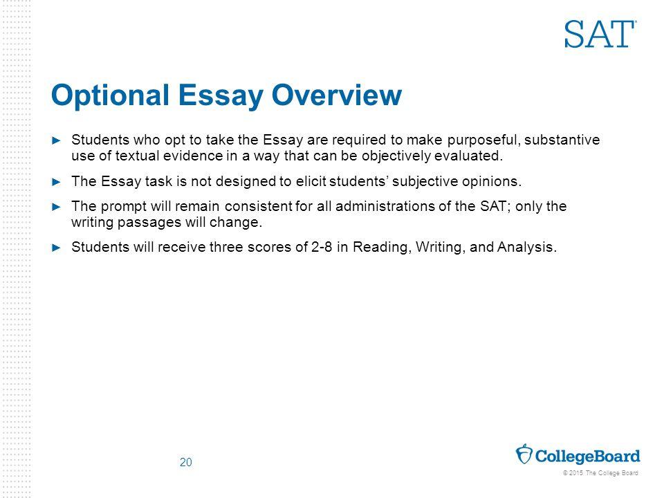 sample sat essay prompt