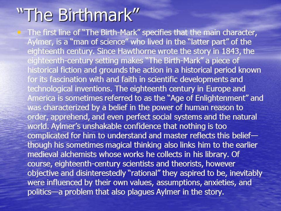 Critical thinking of the birthmark