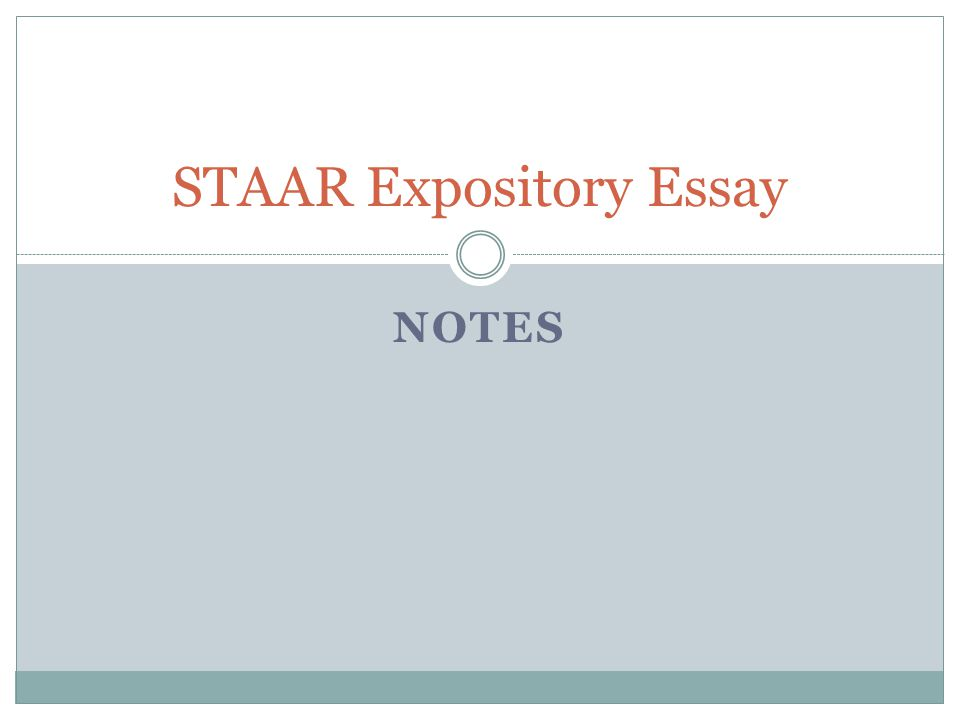 Sample essays for staar