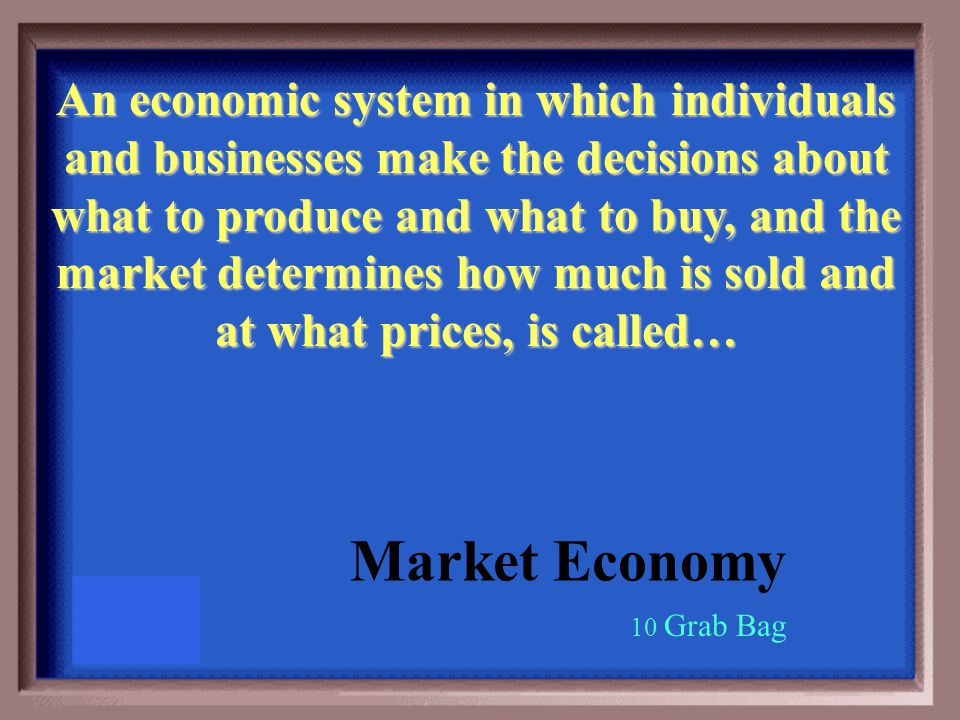List the four economic questions WHAT goods and services will be produced.