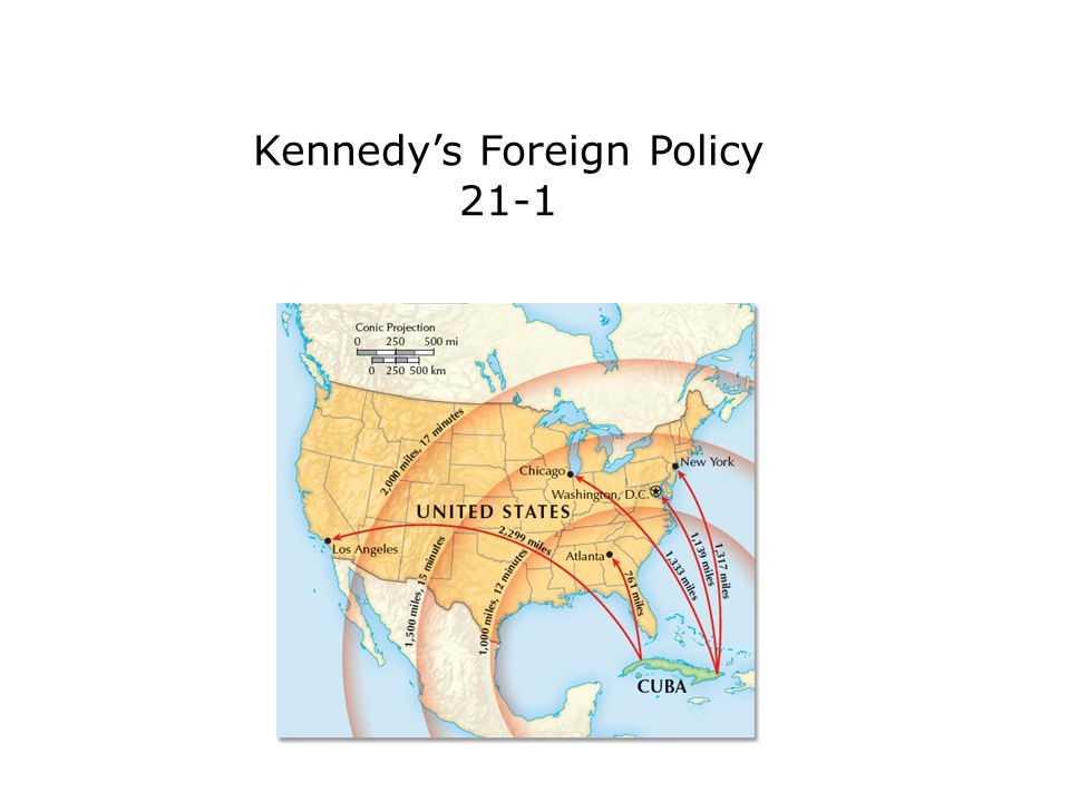 Kennedy's Foreign Policy 21-1