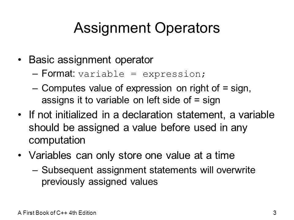Matlab assignment operator