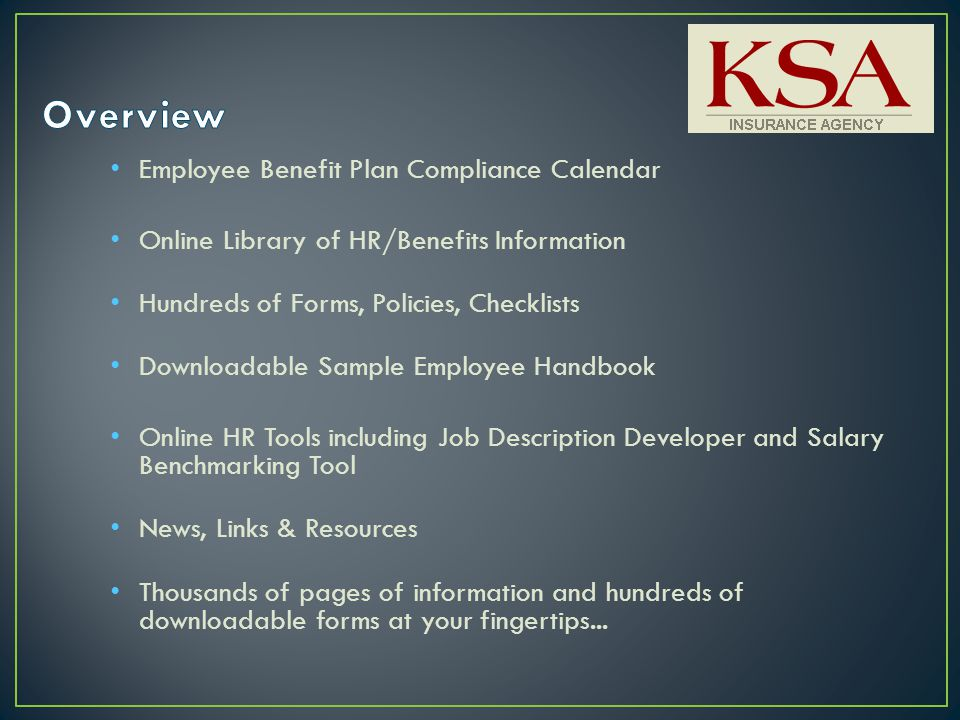 Comprehensive Coverage of State and Federal HR and Benefits Laws ...