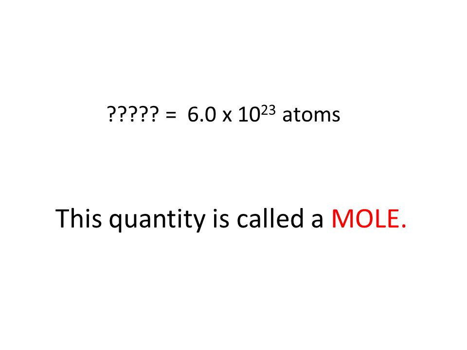 As you know, atoms and molecules are extremely small.