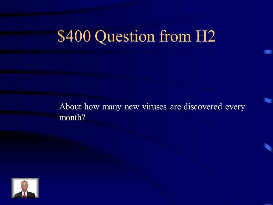 $300 Answer from H2 Anti-virus system