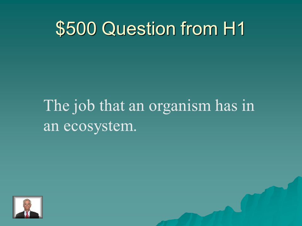 $400 Answer from H1 population