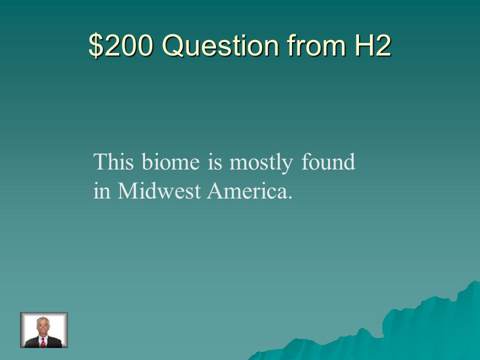 $100 Answer from H2 Desert