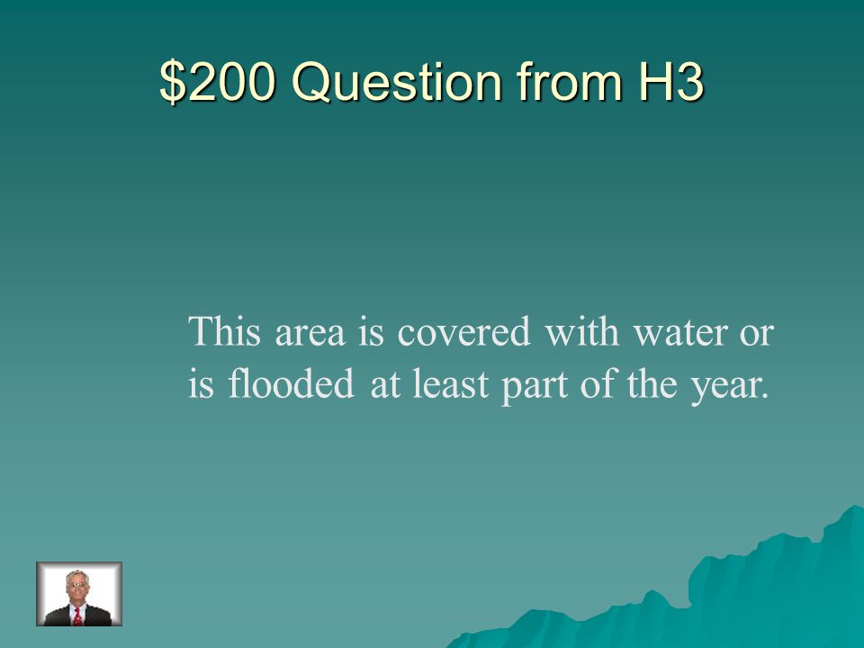 $100 Answer from H3 Rivers