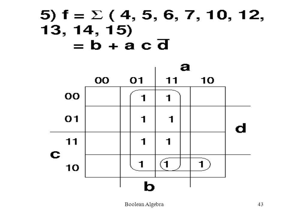 Boolean Algebra42