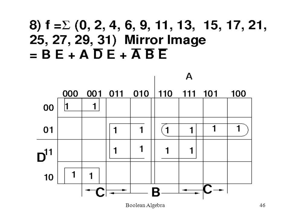Boolean Algebra45
