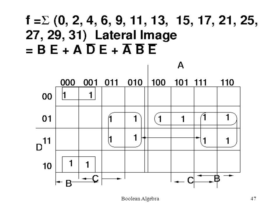 Boolean Algebra46