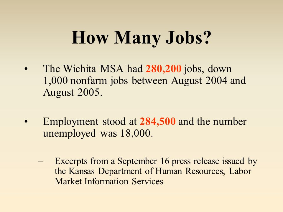 How Many Jobs.