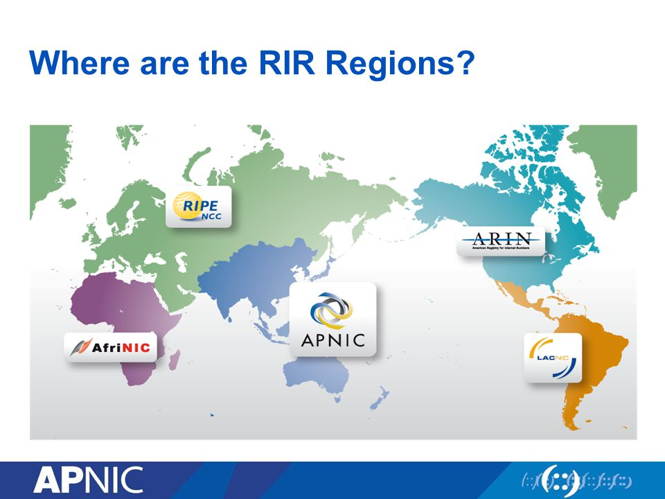 Where are the RIR Regions
