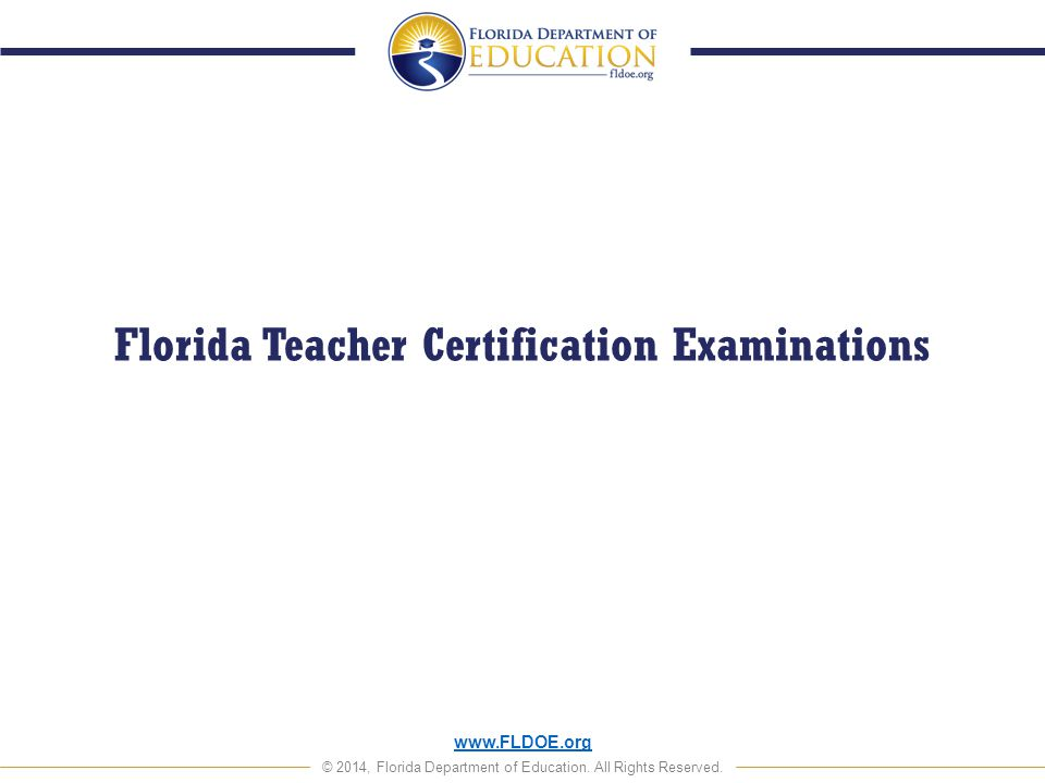 Florida Dept Of Education Certification The Best Education 2018
