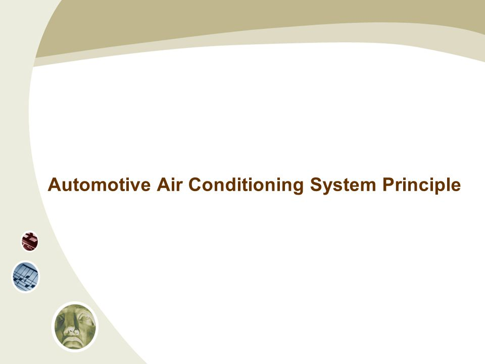 Automotive Air Conditioning System Principle