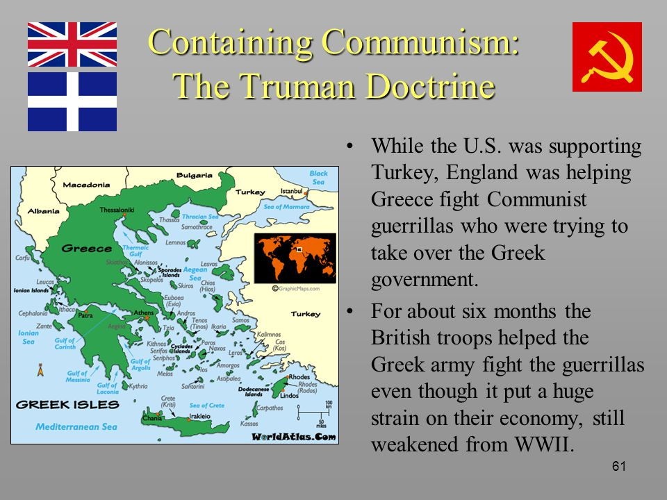 Truman doctrine helping other countries?