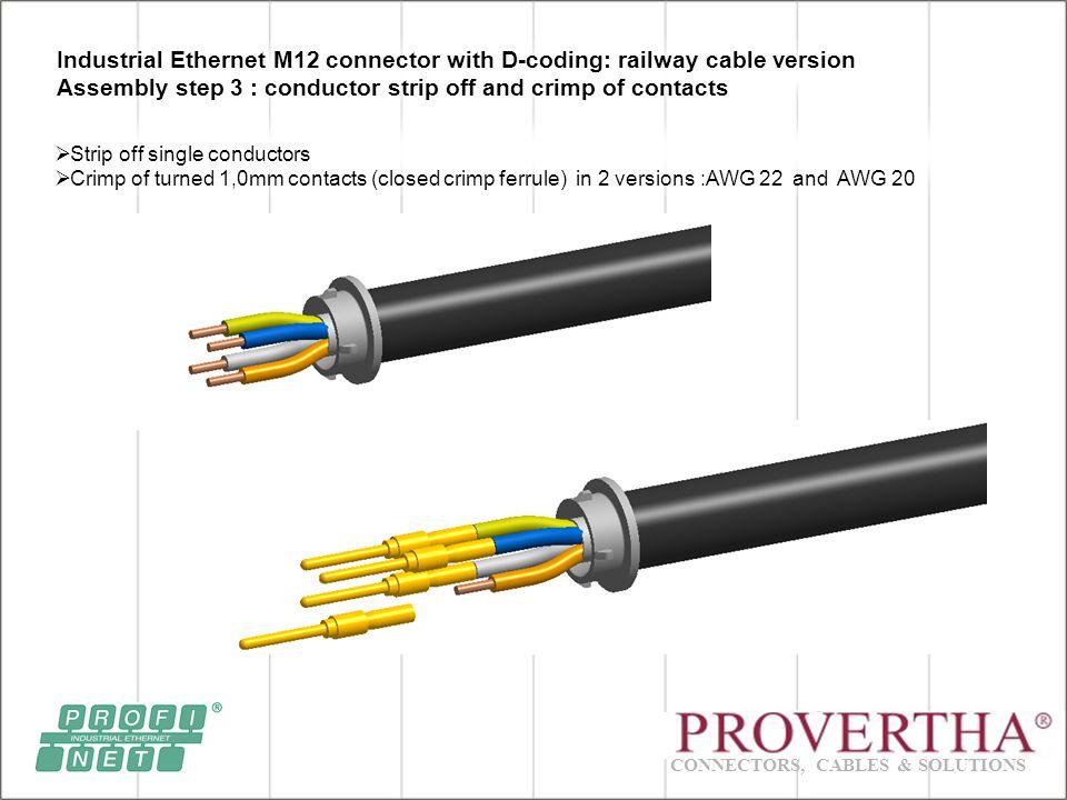 CONNECTORS, CABLES & SOLUTIONS Presentation I-Net M12 Crimp Field ...