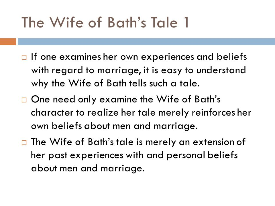 chaucers opinion of the wife of bath essay View notes - wife of bath tale essay from english la british li at loudoun valley high in geoffrey chaucers the wife of baths tale and the movie what women want, both stories answer the hard to.