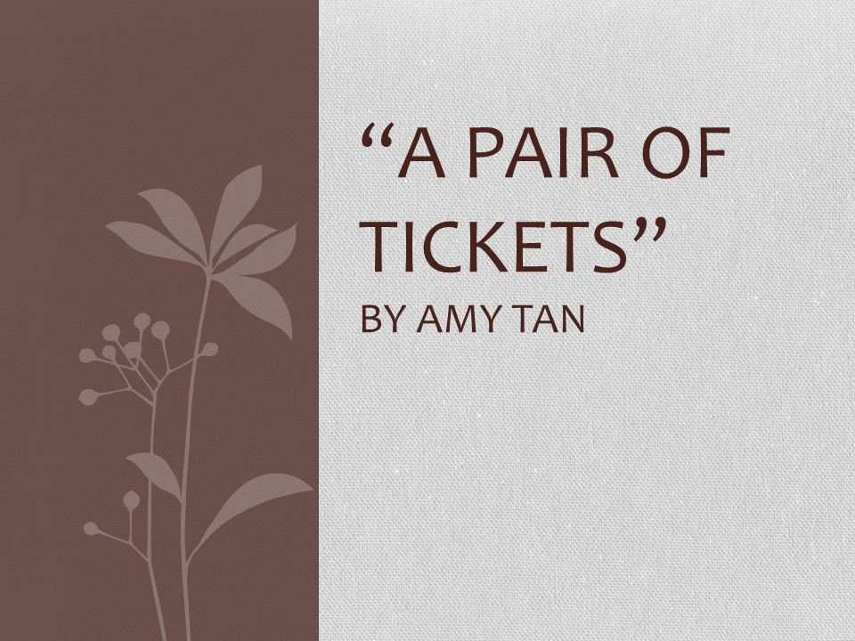 the life and early years of amy tan Family secrets, life-changing betrayals and the paradox of wondering about the old country while belonging to the new are at the heart of amy tan's work.
