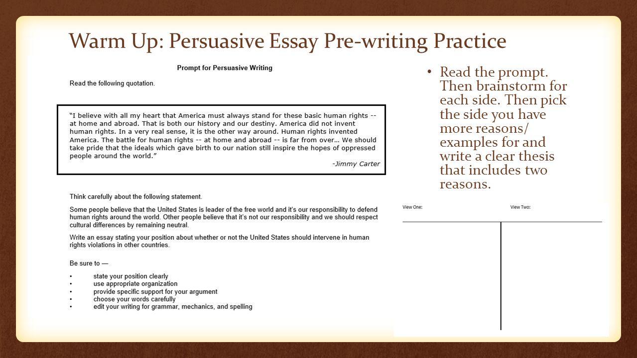 current events persuasive essay topics