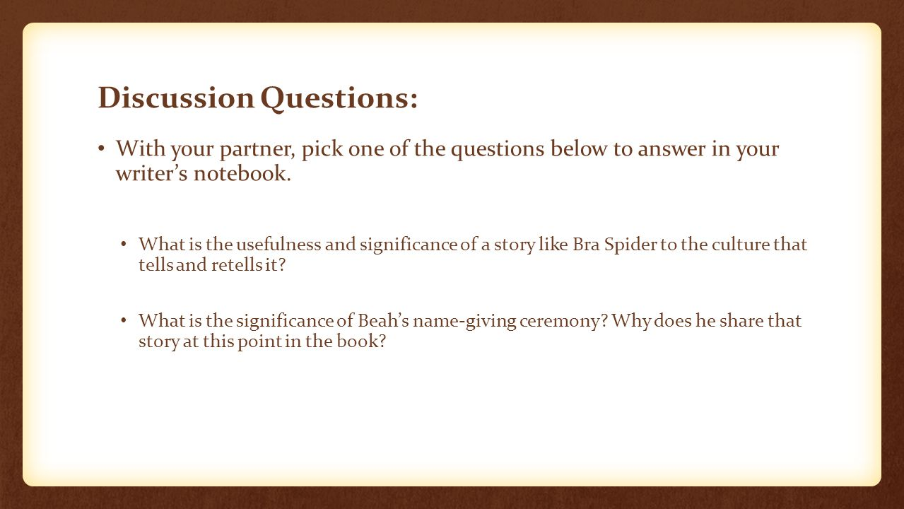 warm up persuasive essay pre writing practice the prompt discussion questions your partner pick one of the questions below to answer in