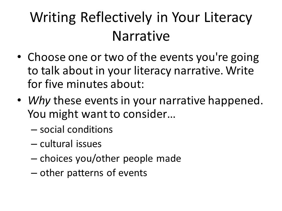 what are narrative essays