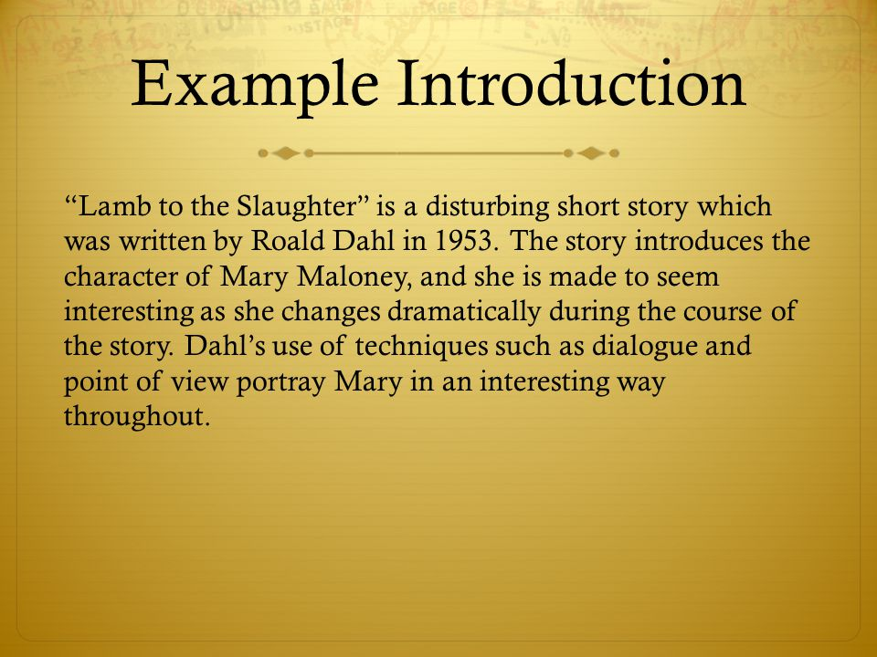 essay short stories